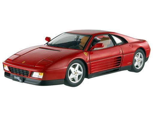 Ferrari: 348 tb - Vermelha - 1:18