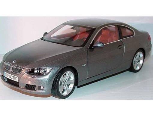 BMW: 3 Series Coupé E92 - Cinza - 1:18