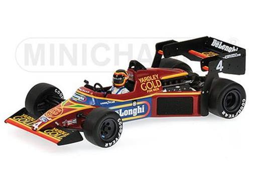 Tyrrell Ford: 012 - S. Bellof - Practice Mônaco GP 1984 - 1:43