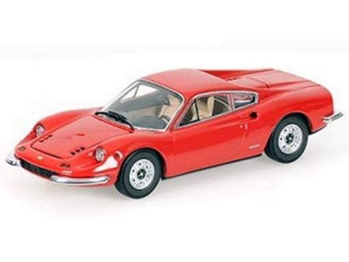 Ferrari: Dino 246 GT - Vermelha - 1:43