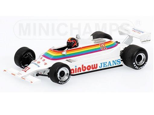 Williams Ford: FW07 Kevin Cogan (1980) - 1:43