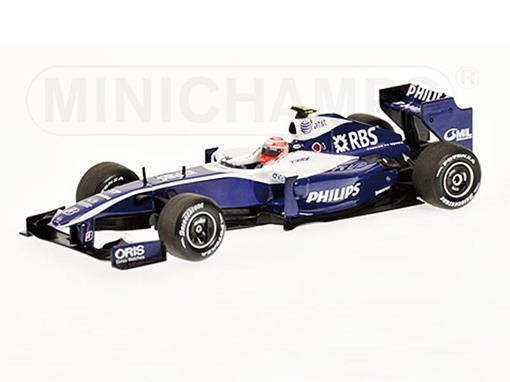 Williams Toyota: FW31 Kazuki Nakajima (2009) - 1:43