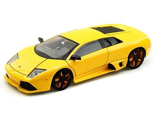 Lamborghini: Murciélago LP 640 - Amarela - Bigtime K. - 1:24