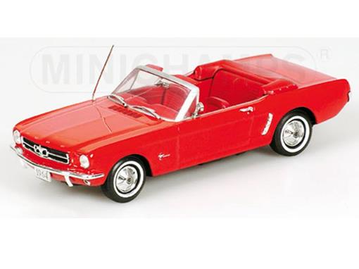 Ford: Mustang Convertible (1964) - Vermelho - 1:43