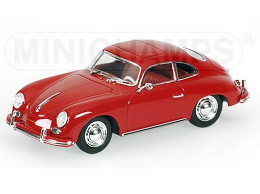 Porsche: 356 A Coupé (1959) - Vermelho - 1:43