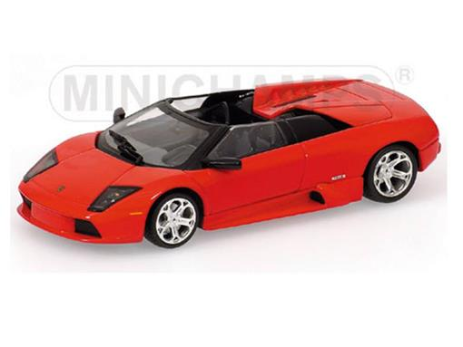 Lamborghini: Murciélago Concept Car Barchetta (2004) - Vermelha - 1:43