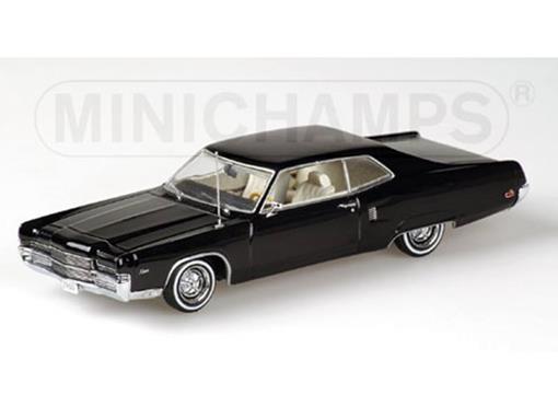Ford: Mercury Marauder X-100 Hardtop Coupé (1969) - Preto - 1:43