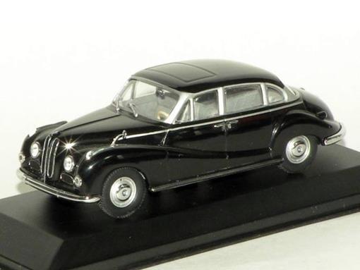 BMW: 502 V8 Limousine - Preta - 1:43