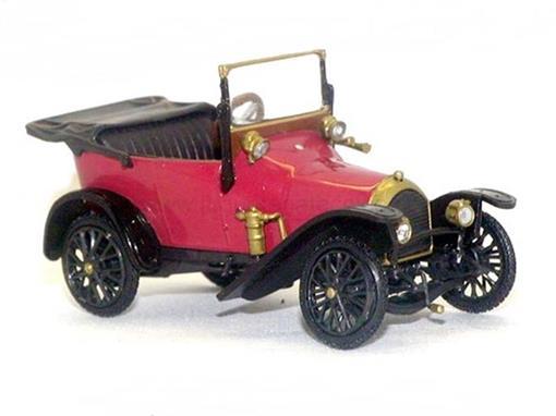 Peugeot: 6CV Bébé - Vermelho - 1:43