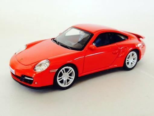 Porsche: 911 Turbo (997) - Vermelho- 1:43