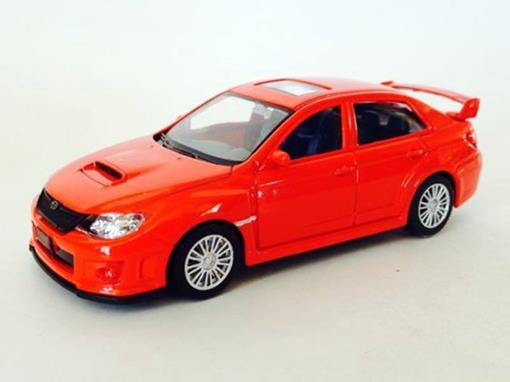 Subaru: WRX STI  - Vermelho- 1:43