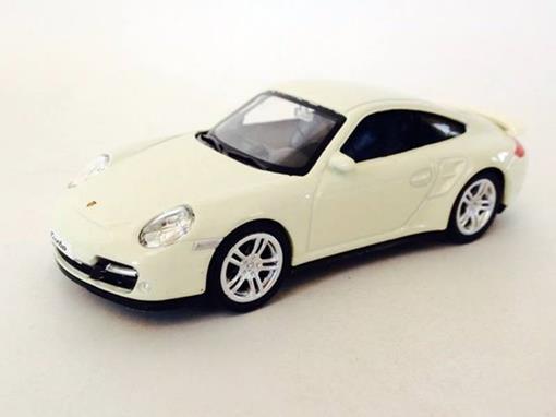 Porsche: 911 Turbo (997) - Creme - 1:43