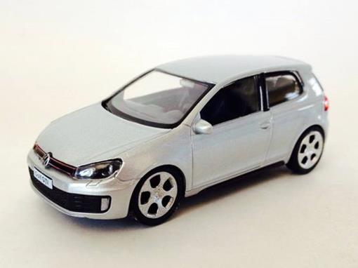 Volkswagen: Golf GTI  - Prata - 1:43