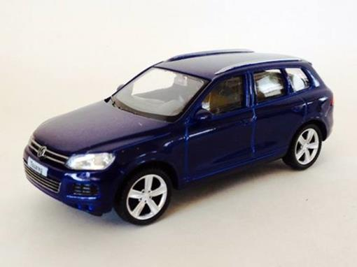 Volkswagen: Touareg - Azul - 1:43