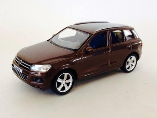 Volkswagen: Touareg - Marrom - 1:43