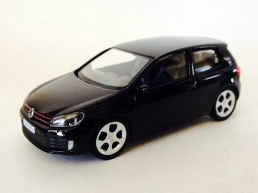Volkswagen: Golf GTI - Preto - 1:43