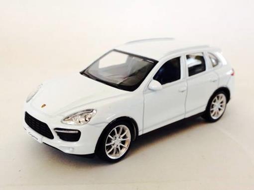 Porsche: Cayenne Turbo -  Branco - 1:43