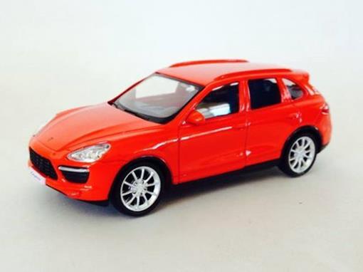 Porsche: Cayenne Turbo - Vermelho  - 1:43