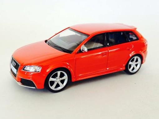Audi: RS3 Sportback - Vermelho - 1:43