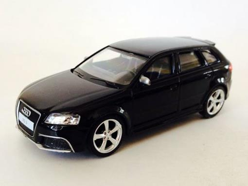 Audi: RS3 Sportback - Preto - 1:43