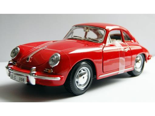 Porsche: 356B Coupe (1961) - Vermelho - 1:18