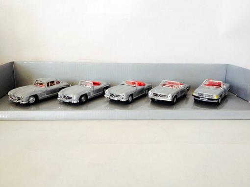 Set: Mercedes-Benz 50 Jahre SL - Classic Collection - 1:43
