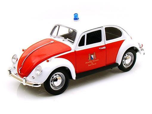 Volkswagen: Fusca / Bombeiros Zurich Suíça (1967) - 1:18