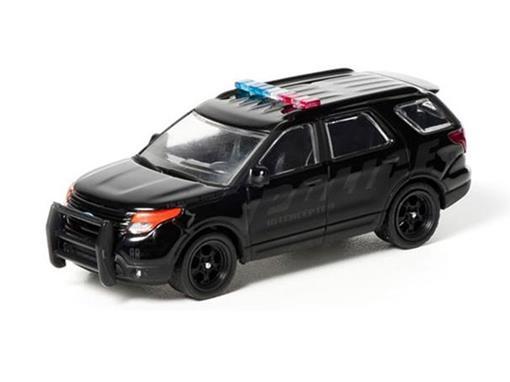 Ford: Explorer Police Interceptor Utility (2013) - Black Bandit - Série 7 - 1:64