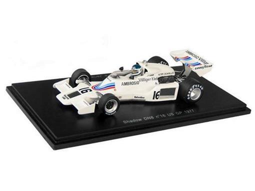 Shadow: DN8 - Jean-Pierre Jerier - US GP 1977 - 1:43