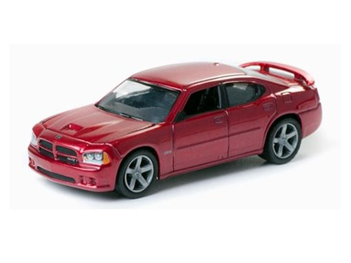 Dodge: Charger SRT8 (2006) - Zine Machines - Série 1 - 1:64