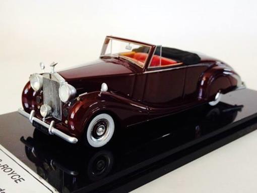 Rolls-Royce: Silver Wraith Roadster (1950) - Borgonha - 1:43