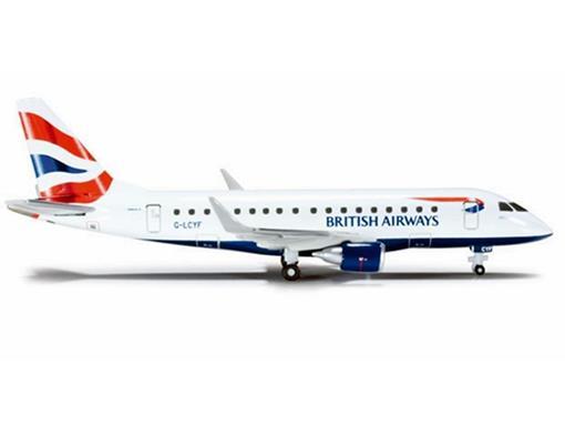 British Airways Cityflyer: Embraer ERJ-170 - 1:400
