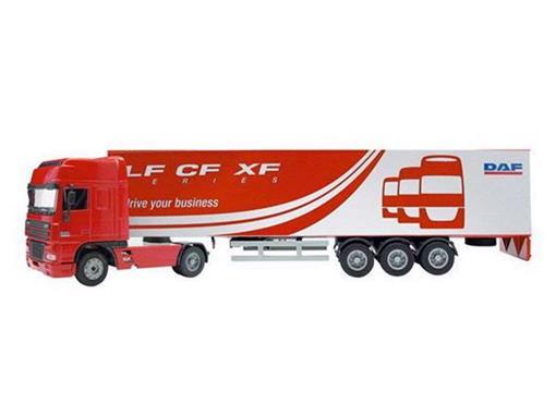DAF: 95XF Carreta - Vermelha - 1:50
