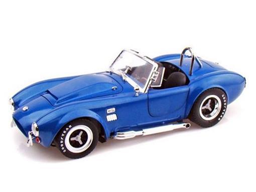 Ford: Shelby Super Snake Conversível 427 (1966) - Azul - 1:18