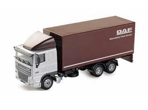 DAF: 95 XF - Caminhão Baú - 1:50