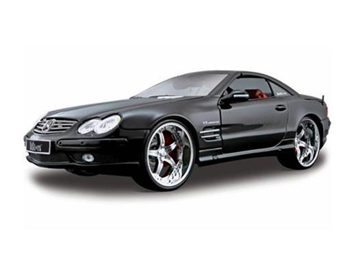 Mercedes Benz: SL55 AMG - Preto - 1:18