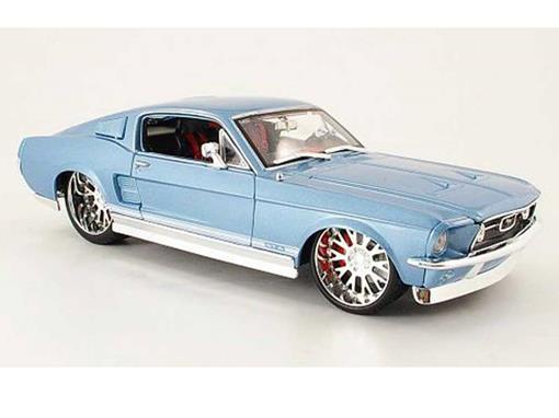 Ford: Mustang GTA Fastback (1967) - Pro Rodz - Azul - 1:18