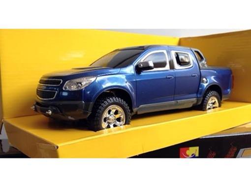 Chevrolet: S10 Rally - Azul - Controle Remoto - 1:18