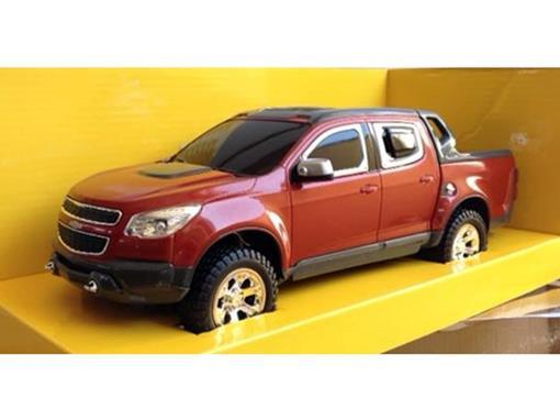 Chevrolet: S10 Rally - Vermelha - Controle Remoto - 1:18