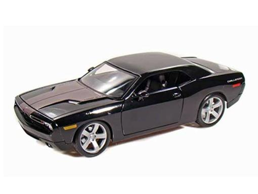 Dodge: Challenger Concept - Preto - (2006) - 1:18