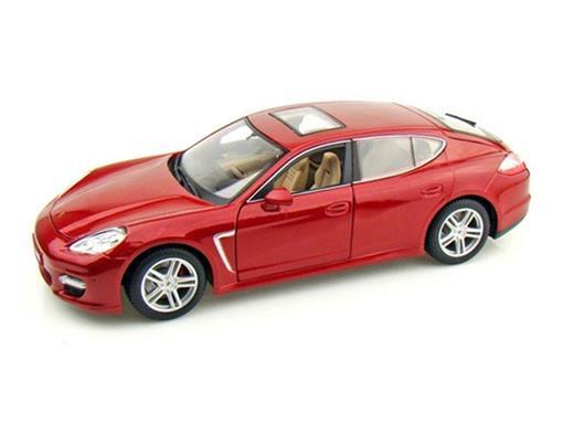 Porsche: Panamera Turbo - Vermelho - 1:18