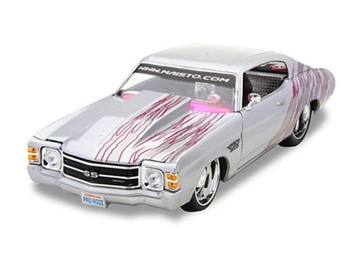 Chevrolet: Chevelle SS 454 (1971) - Prata - 1:18