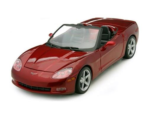 Chevrolet: Corvette (2005) - Vermelho - 1:18