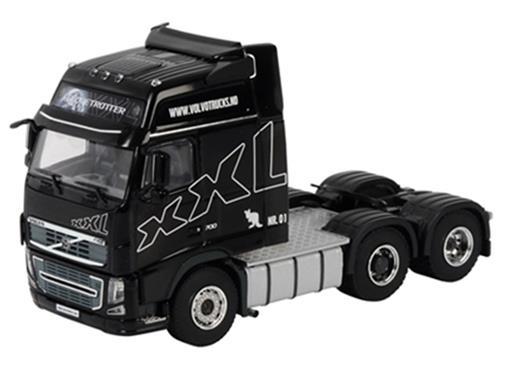 Volvo: XXL Demo 6x4 - Cavalo - Preto - 1:50