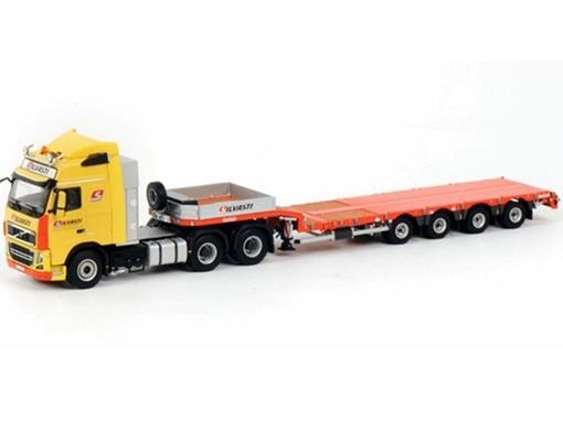 Volvo: FH3 Globetrotter 6x4 - Prancha -