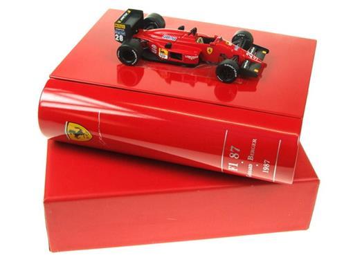 Ferrari: F1/87 - Gerhard Berger (1987) - La Storia Collection - 1:43