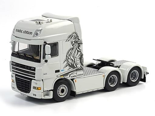 DAF: XF 105 - Super Space Cab 6x2 - Nordic Edition - 1:50