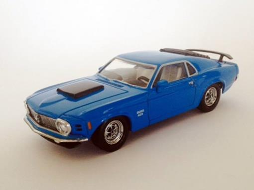 Ford: Mustang Boss 429 (1970) - Azul - 1:43