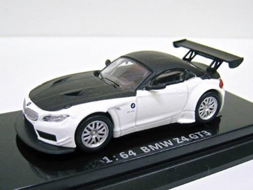 BMW: Z4 GT3 - Branca/Preta - 1:64