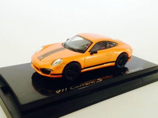 Porsche: 911 Carrera S - Laranja - 1:64